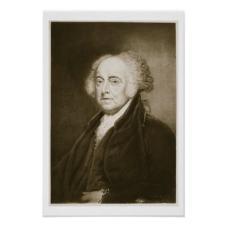 John Adams, 2nd President of the United States of Poster