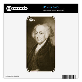 John Adams, 2nd President of the United States of Skin For iPhone 4S