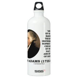 John Adams Abuse Of Words Sophistry Chicanery Water Bottle
