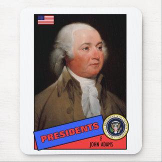 John Adams Baseball Card Mousepads
