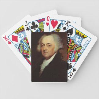 John Adams Bicycle Playing Cards