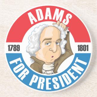 John Adams Campaign Coaster