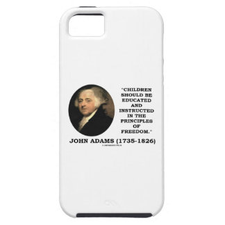 John Adams Children Instructed Principles Freedom iPhone SE/5/5s Case