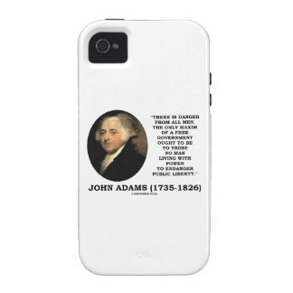 John Adams Danger All Men Maxim Free Government Case For The iPhone 4