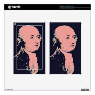 John Adams Decals For Kindle Fire