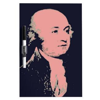John Adams Dry Erase Board