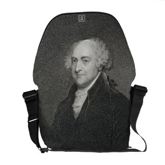 John Adams, engraved by James Barton Longacre (179 Messenger Bag