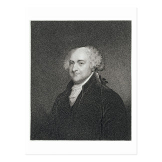 John Adams, engraved by James Barton Longacre (179 Postcard