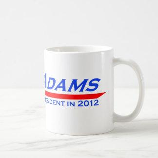 John Adams for President in 2012 Mug
