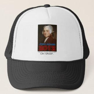 John Adams for President in 2012: Oh Snap Trucker Hat