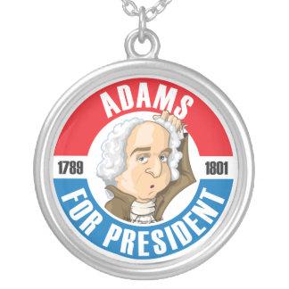 John Adams For President Necklace