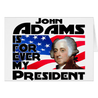 John Adams Forever Card