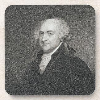 John Adams, grabado por James Barton Longacre (179 Posavasos De Bebidas