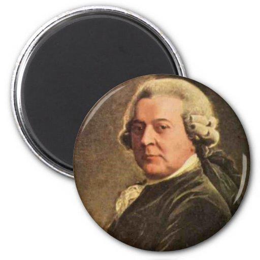 John Adams Imán Para Frigorífico