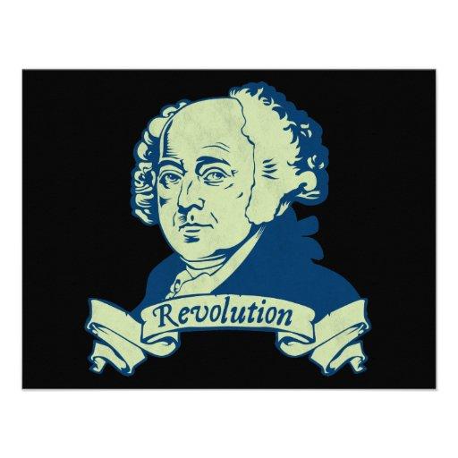 John Adams Invitation