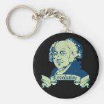 John Adams Key Chain
