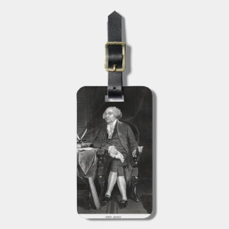 John Adams Tag For Luggage