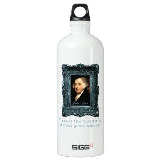 John Adams: Most Govts Based on Fear Aluminum Water Bottle