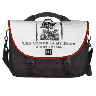 John Adams on Swords and Debt Laptop Computer Bag