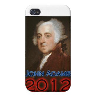 John Adams para el presidente en 2012 Oh broche iPhone 4 Cobertura