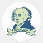 John Adams Pegatinas Redondas