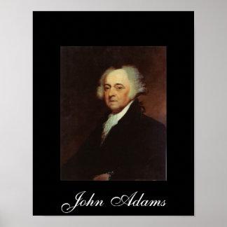 John Adams por Asher B Durand Póster