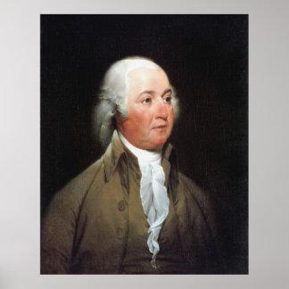 JOHN ADAMS Portrait by John Trumbull Print