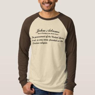 John Adams Quotes T-shirts