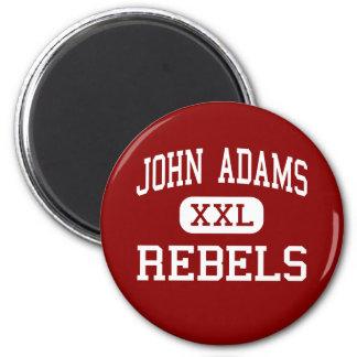 John Adams - rebeldes - High School secundaria - C Imán Redondo 5 Cm