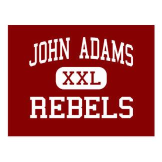 John Adams - rebeldes - High School secundaria - C Tarjeta Postal