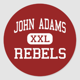 John Adams - rebeldes - High School secundaria - C Pegatinas
