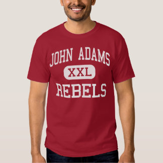 John Adams - rebeldes - High School secundaria - Camisas