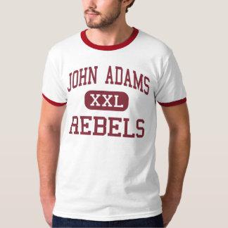 John Adams - rebeldes - High School secundaria - Playera