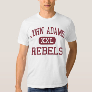 John Adams - rebeldes - High School secundaria - Playeras