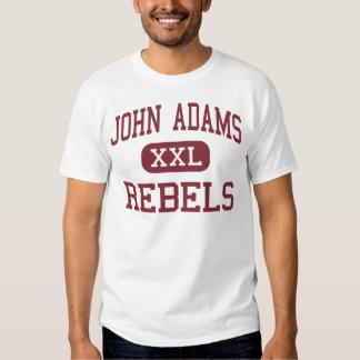 John Adams - rebeldes - High School secundaria - Remeras