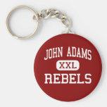 John Adams - Rebels - High School - Cleveland Ohio Keychain
