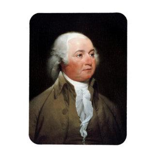 John Adams Rectangular Photo Magnet