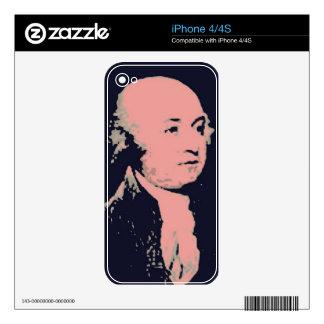 John Adams Skin For The iPhone 4