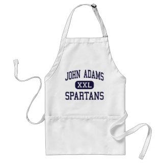 John Adams - Spartans - High - Ozone Park New York Adult Apron
