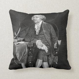 John Adams Throw Pillows