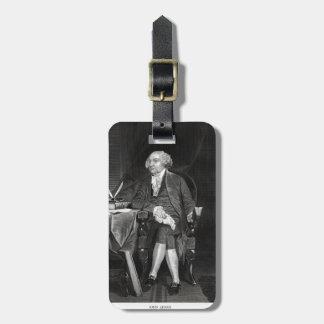 John Adams Travel Bag Tag