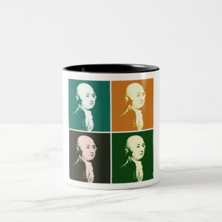 John Adams Two-Tone Coffee Mug