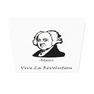 John Adams - Vive La Revolution Canvas Print