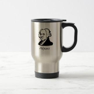 John Adams - Vive La Revolution Travel Mug