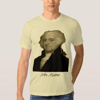 john adams w signature tee shirt