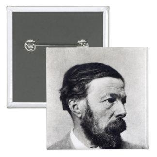 John Addington Symonds, c.1889 Button