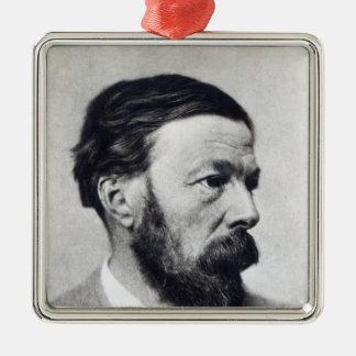 John Addington Symonds, c.1889 Metal Ornament