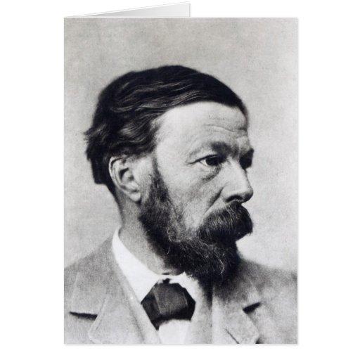 John Addington Symonds, c.1889 Tarjeta De Felicitación