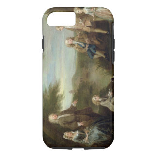 John and Elizabeth Jeffreys and their Children, 17 iPhone 7 Case