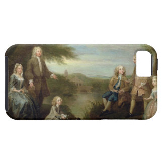 John and Elizabeth Jeffreys and their Children, 17 iPhone SE/5/5s Case